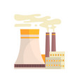 thermal power station industrial manufactury vector image