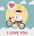miracle of Love vector image