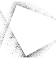 Ink blots square set-4 vector image