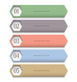 Creative Design template in pastel colors vector image vector image