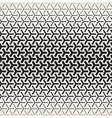 Triangular Shapes Halftone Lattice vector image