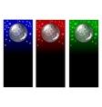 sparkle ball vector image
