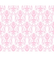 floral wallpaper background vector image vector image