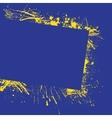 Splash frame background vector image