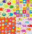 Backgrounds for kids vector image