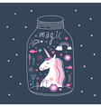 Unicorn are real vector image