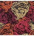 Abstract seamless pattern in warm vector image