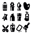 art tools icon vector image