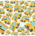 School bus pattern vector image
