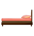 A bed vector image vector image