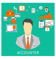 ACCOUNTER vector image