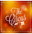 holiday circus vector image