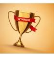 Winner Cup vector image vector image