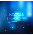 Blue shine light background vector image