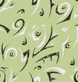green abstract seamless vector image
