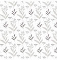 Nature seamless patterns vector image