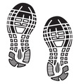 Footprint1 resize vector image