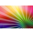 Rainbow business card vector image