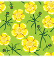 buttercup seamless vector image