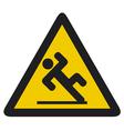 wet floor sign vector image