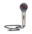 modern microphone technology vector image