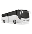 big tour bus 01 vector image