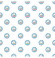 Speed boat with sail pattern vector image