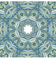 Mosaic Lace Pattern Circle Background vector image