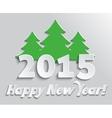 2015 Happy New Year vector image