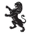 Heraldic Lion vector image