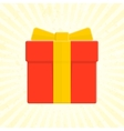 present box icon vector image
