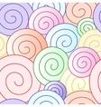 spiral pattern design vector image
