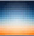 gradient background in shades of orange and vector image