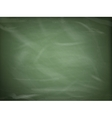 Blank green chalkboard EPS 10 vector image