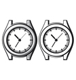 wrist watch - wristwatch vector image