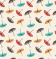 collection of different fashion umbrellas vector image
