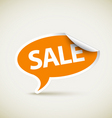 retail sale sticker vector image vector image