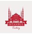 hagia sophia Turkey Istanbul vector image
