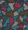 urban seamless pattern vector image