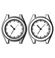 wrist watch - wristwatch vector image