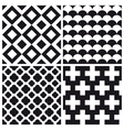 set patterns 1 vector image vector image