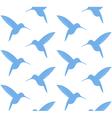 Hummingbird Pattern vector image