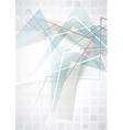 Elegant Geometric Blue Background vector image