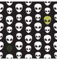 Alien Extraterrestrial Head vector image