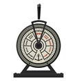 Retro brass ships telegraph vector image