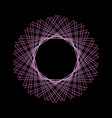 mystical geometric pattern sacred geometry vector image