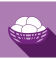 Nest simple icon vector image