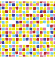 Colorful mosaic seamless pattern Tile vector image