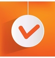 accept web icon vector image