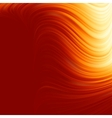 Abstract glow Twist with fire flow EPS 8 vector image